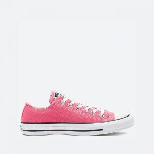 נעלי סניקרס קונברס לנשים Converse CHUCK TAYLOR ALL STAR OX - ורוד