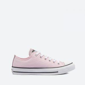 נעלי סניקרס קונברס לנשים Converse CHUCK TAYLOR ALL STAR OX - ורוד בהיר