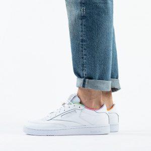 נעלי סניקרס ריבוק לגברים Reebok Club C 85 - צבעוני/לבן