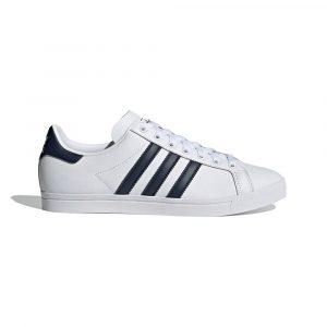 נעלי סניקרס אדידס לגברים Adidas COAST STAR - לבן הדפס