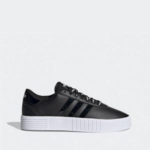 נעלי סניקרס אדידס לנשים Adidas Court Bold - שחור/לבן