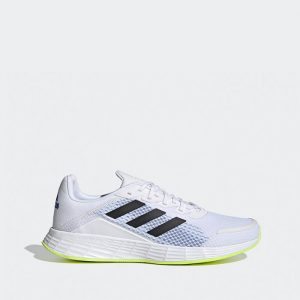 נעלי סניקרס אדידס לגברים Adidas Duramo SL - לבן/צהוב
