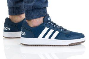 נעלי סניקרס אדידס לגברים Adidas HOOPS 2 - כחול כהה
