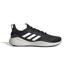 נעלי ריצה אדידס לגברים Adidas FLUIDFLOW - שחור/לבן