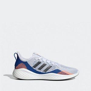נעלי ריצה אדידס לגברים Adidas Fluidflow 2.0 - אפור/כחול
