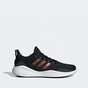 נעלי ריצה אדידס לגברים Adidas Fluidflow 2.0 - שחור/אדום