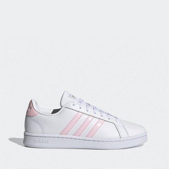 נעלי סניקרס אדידס לנשים Adidas Grand Court - לבן/ורוד