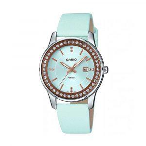 שעון קסיו לנשים CASIO LTP-1358L-2A - טורקיז
