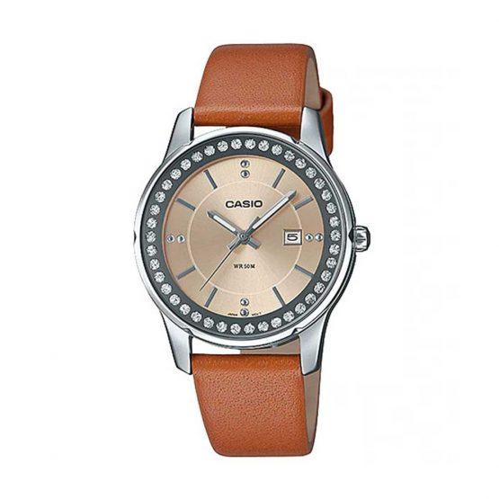 שעון קסיו לנשים CASIO LTP-1358L-5A - חום
