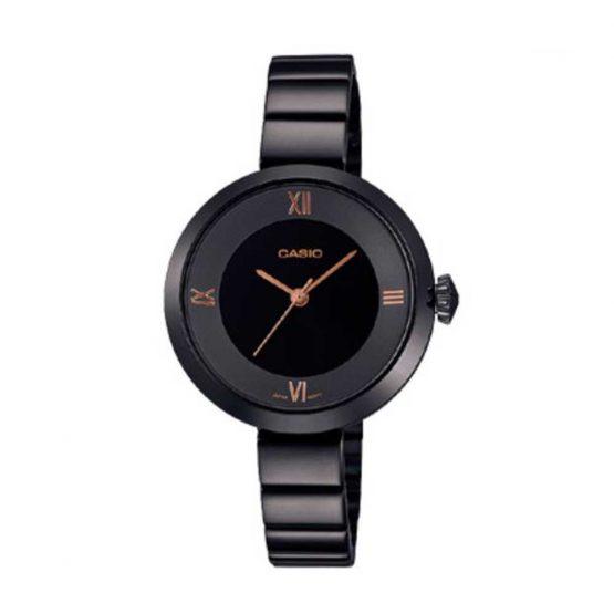 שעון קסיו לנשים CASIO LTP-E154B-1A - שחור