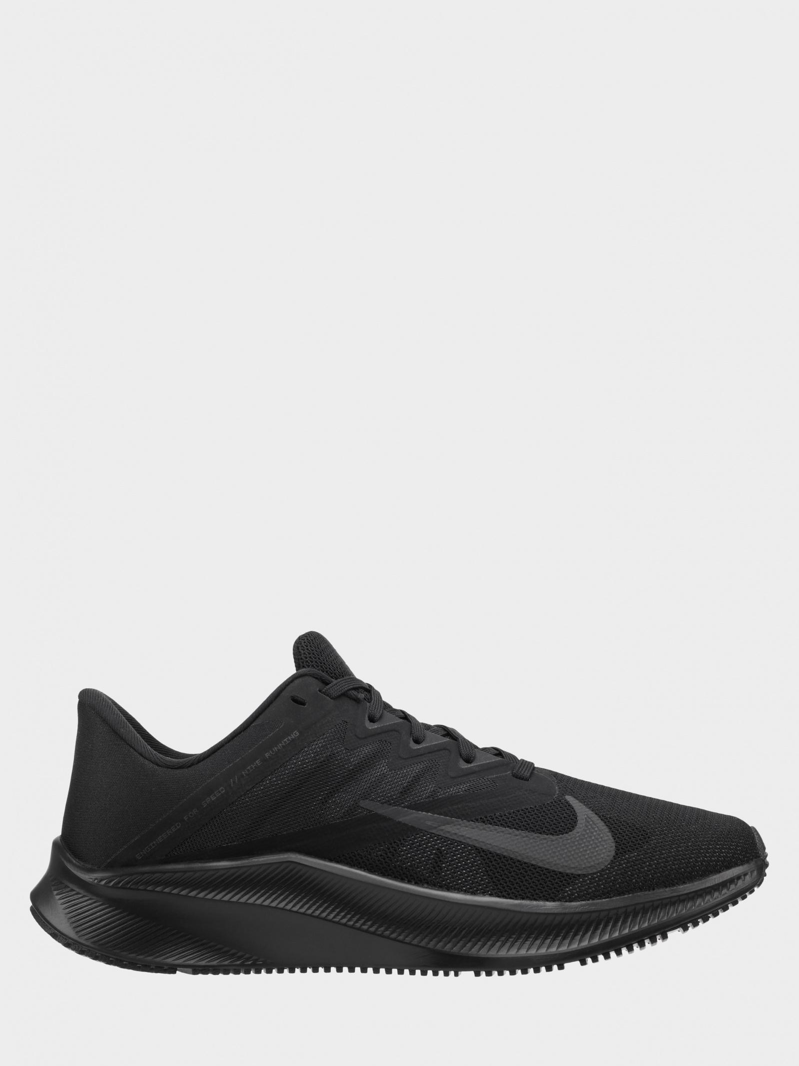 נעלי ריצה נייק לגברים Nike Quest 3 - שחור מלא