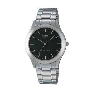 שעון קסיו לגברים CASIO MTP-1128A-1A - כסף