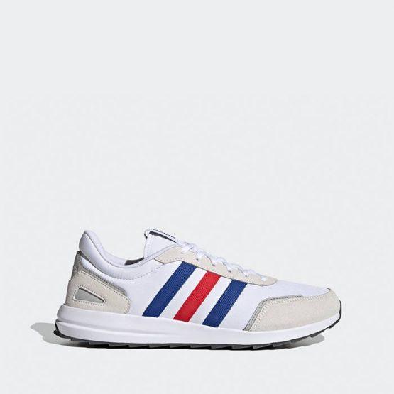 נעלי ריצה אדידס לגברים Adidas Retrorunner - לבן  כחול  אדום