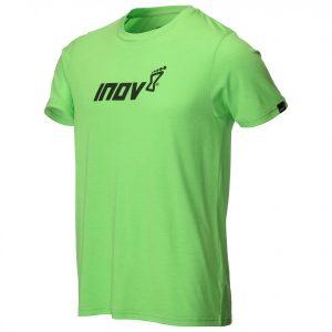 חולצת אימון אינוב 8 לגברים Inov 8 TRI BLEND - ירוק