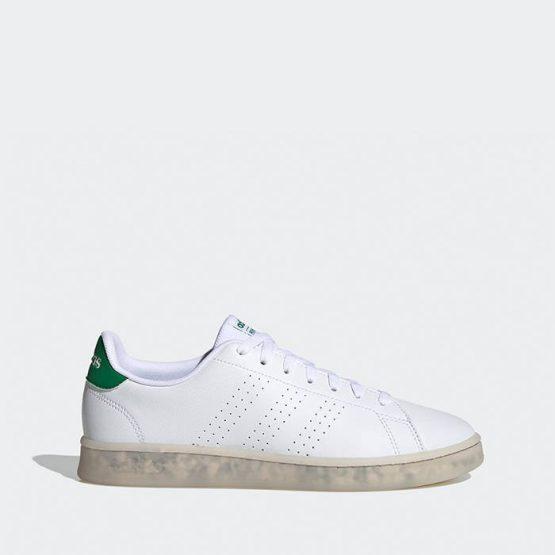 נעלי סניקרס אדידס לגברים Adidas Advantage - לבן/ירוק
