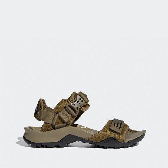 סנדלים אדידס לגברים Adidas Cyprex Ultra Sandal Dlx - חום