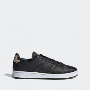נעלי סניקרס אדידס לגברים Adidas Grand Court - שחור