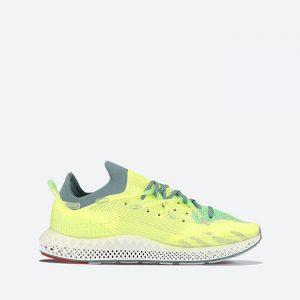 נעלי סניקרס אדידס לגברים Adidas Originals 4D Fusio - צהוב