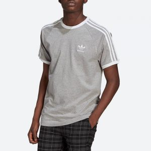 חולצת T אדידס לגברים Adidas Originals Adicolor Classics 3-Stripes Tee - אפור