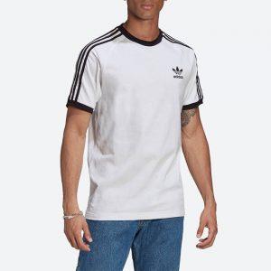 חולצת T אדידס לגברים Adidas Originals Adicolor Classics 3-Stripes Tee - לבן
