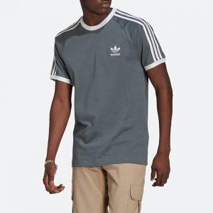 חולצת T אדידס לגברים Adidas Originals Adicolor Classics 3-Stripes Tee - צבעוני כהה
