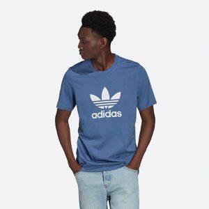 חולצת T אדידס לגברים Adidas Originals Adicolor Classics Trefoil Tee - כחול