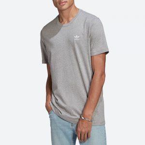 חולצת T אדידס לגברים Adidas Originals Adicolor Essentials Trefoil Tee - אפור