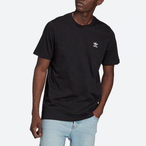 חולצת T אדידס לגברים Adidas Originals Adicolor Essentials Trefoil Tee - שחור