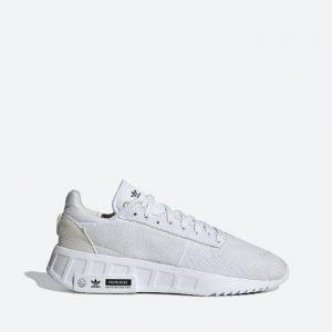 נעלי סניקרס אדידס לגברים Adidas Originals Geodiver Primeblue - לבן