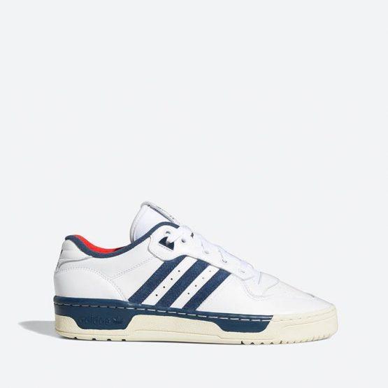 נעלי סניקרס אדידס לגברים Adidas Originals Rivalry Low Premium - לבן