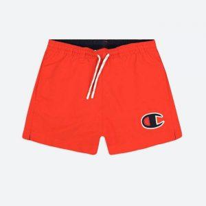 בגד ים צ'מפיון לגברים Champion Beachshort - אדום