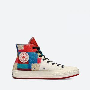נעלי סניקרס קונברס לגברים Converse Chuck 70 Chinese New Year - צבעוני/לבן