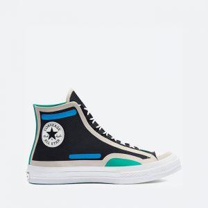 נעלי סניקרס קונברס לגברים Converse Chuck 70 Hi Digital Terrain - צבעוני כהה