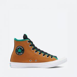נעלי סניקרס קונברס לגברים Converse Chuck Taylor All Star Hi Digital Terrain - חום