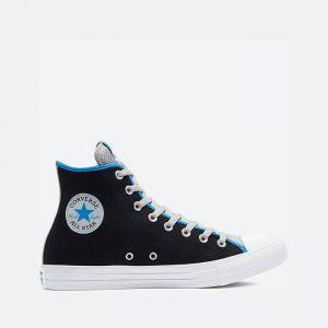 נעלי סניקרס קונברס לגברים Converse Chuck Taylor All Star Hi Digital Terrain - שחור