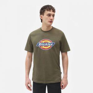 חולצת T Dickies לגברים Dickies Icon Logo Tee - ירוק