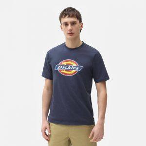 חולצת T Dickies לגברים Dickies Icon Logo Tee - כחול