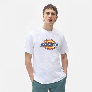 חולצת T Dickies לגברים Dickies Icon Logo Tee - לבן