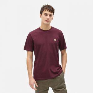 חולצת T Dickies לגברים Dickies SS Mapleton - בורדו