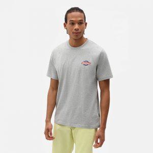 חולצת T Dickies לגברים Dickies SS Ruston Tee - אפור בהיר