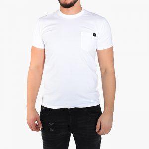 חולצת T Edwin לגברים Edwin Sunset - לבן