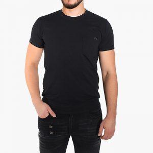 חולצת T Edwin לגברים Edwin Sunset - שחור