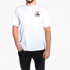 חולצת T Edwin לגברים Edwin Sunset - לבן/שחור