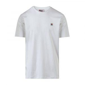 חולצת T פילה לגברים Fila Logo Tee - לבן