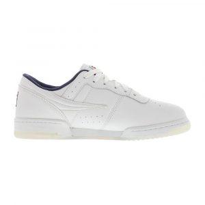 נעלי סניקרס פילה לגברים Fila Original Fitness Graphic - לבן