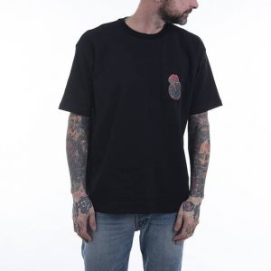 חולצת T פילה לגברים Fila Shoulder Tee - שחור