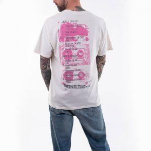 חולצת T HUF לגברים HUF x Smashing Pumpkins Window Paine - לבן