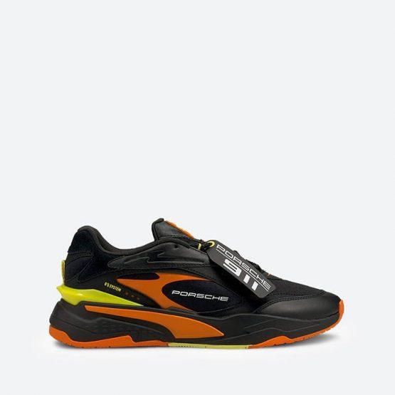 נעלי סניקרס פומה לגברים PUMA Porsche Legacy RS-Fast - שחור