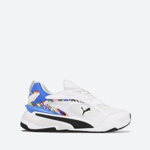 נעלי סניקרס פומה לגברים PUMA RS-Fast International Game - לבן