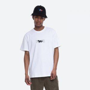 חולצת T פומה לגברים PUMA x Maison Kitsune Oversized Tee - לבן